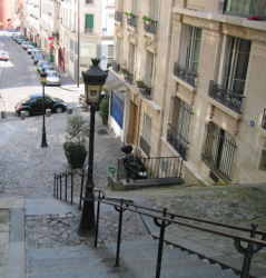 stairs at Montmartre