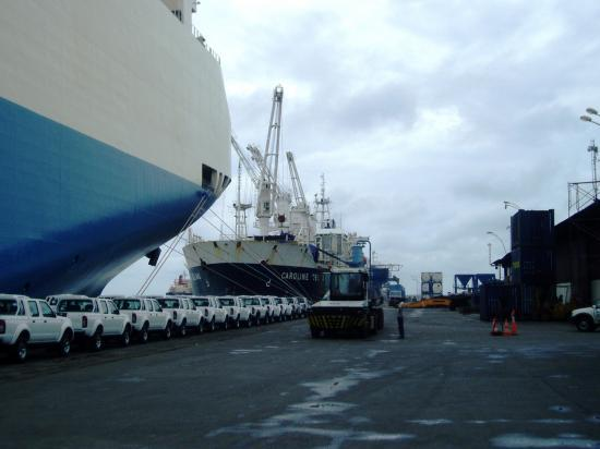 Port d'Owendo, Gabon