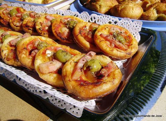 Mini Pizzas Aperitives