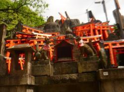 Autel au dieu Inari - Kyoto