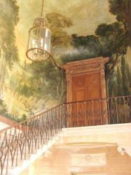 Painted staircase, Paris Marais