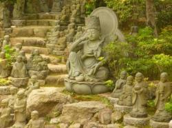 Bouddha et ses petits - Miyajima
