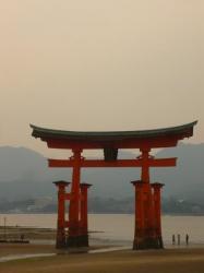 Porte a maree basse - Miyajima