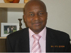 Nabbie Ibrahim « Baby» Soumah Juriste et anthropologue guinéen