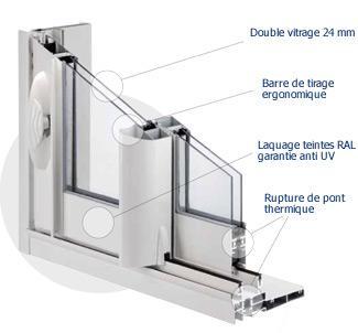 Visialu gamme aluminium for Bremaud fenetre