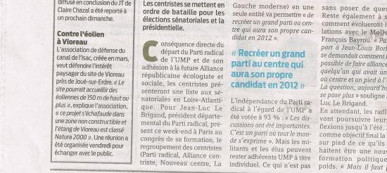 Presse Océan du 16 mai