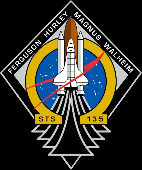 Logo de la mission STS 135