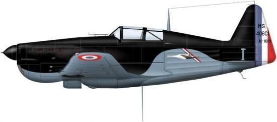 Morane MS 406