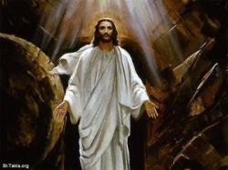 Méthode pour le Saint Rosaire et ses Mystères Www-St-Takla-org___Jesus-Resurrection-21