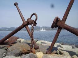 L'ex Club Med dans la baie de St Tropez
