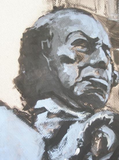 Goya. détail. Format 60 x 80 . 2011.