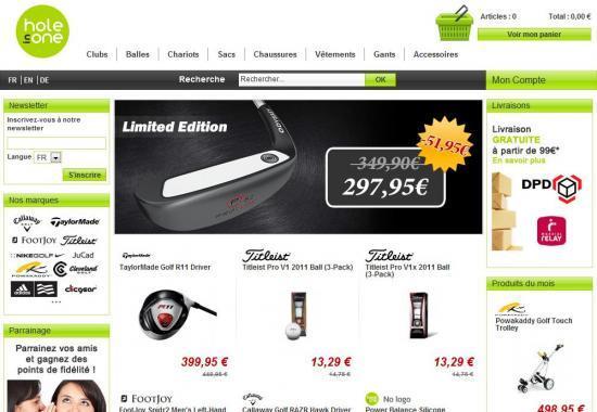 Le matériel de golf qui peut venir d'ailleurs en Europe