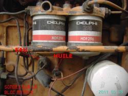 sondes huile et eau