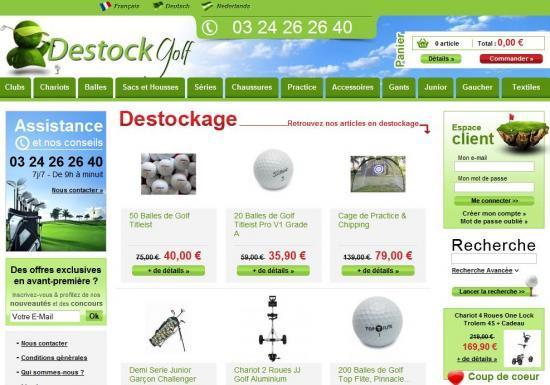 Destockgolf, la boite qui monte