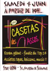 """Les """"Casetas des Assos"""" à St Martin-De-Seignanx"""
