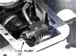 pompe à huile