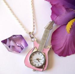 Collier Montre Guitare Rose 5,90 €