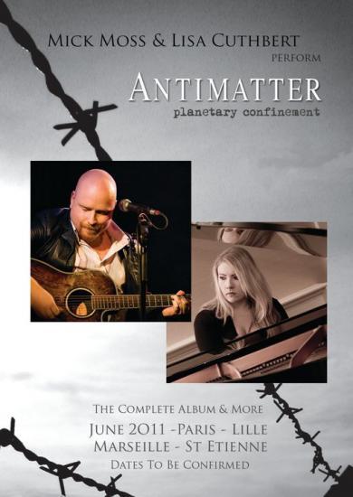 Antimatter - tournée française
