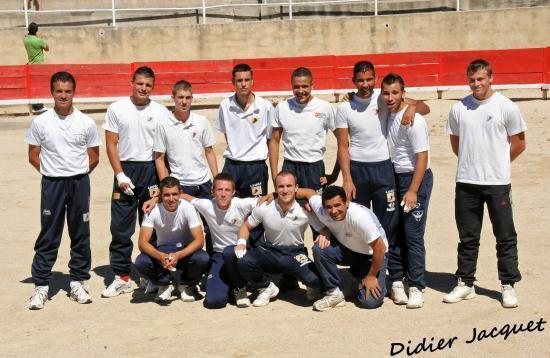 """L'équipe du jour et les """"coachs""""..."""