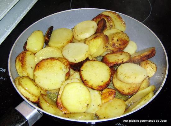 Pommes de terre sarladaises ma fa on et magret de canard - Cuisson magret de canard a la poele ...