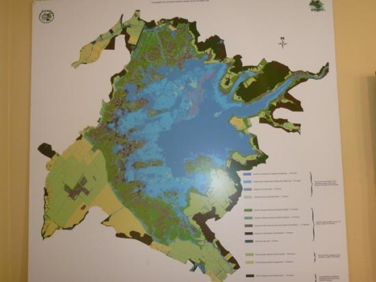 carte du Lac de Grand Lieu