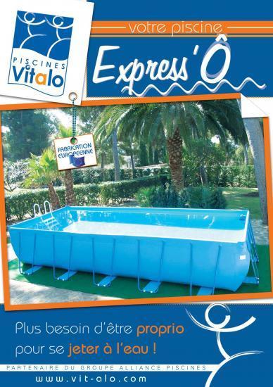 Nos piscines vitalo for Piscine hors sol pvc arme