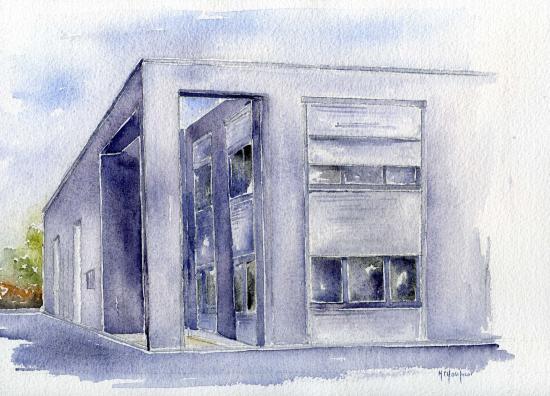Une Idée Cadeau Faites Réaliser Votre Maison à L'aquarelle