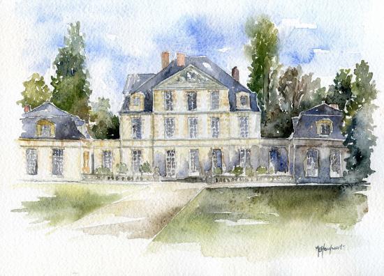 Une id e cadeau faites r aliser votre maison l 39 aquarelle for Aquarelle maison de retraite