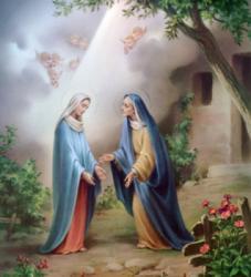Méthode pour le Saint Rosaire et ses Mystères Visitation