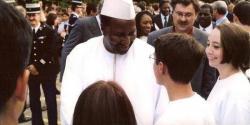 Visite du Président KONARE