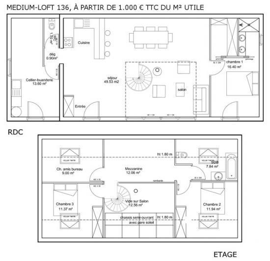 Plan De Suite Parentale Avec Salle De Bain Dressing Idees