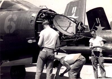 Le tout premier avion américain à être doté d'un radar !