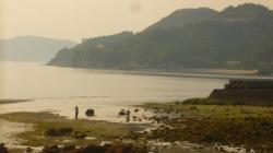 Coucher de soleil et bulots - Shikoku
