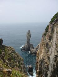 Y'en a encore un qui resiste a la mer! - Shikoku
