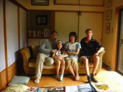 Arthur, Arrissa, Hiromi et moi - Tosa shimizu