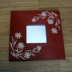miroir edelweiss rouge
