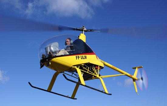 Hélicoptère Kompress de Matthieu de Quillacq