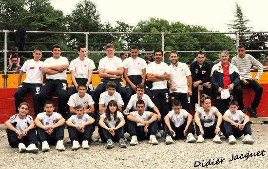 L'équipe des écoles de Bouillargues et Vauvert
