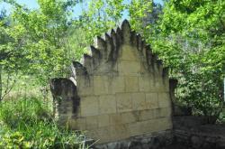 l'Albarède  mur oriental