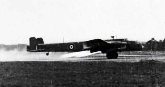 Whitley Mk V with rockets