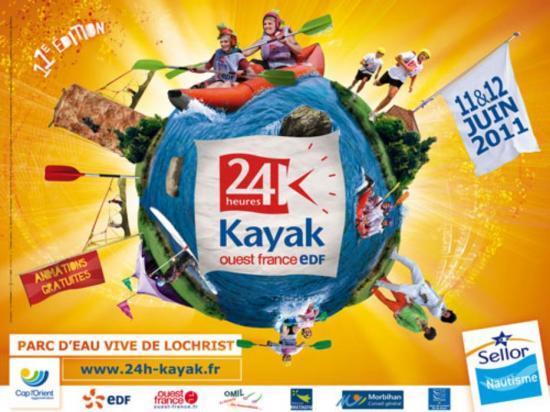 24h de Kayak de Lochrist