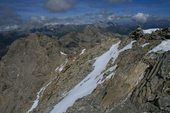 Vue depuis le sommet du Mont Pelat