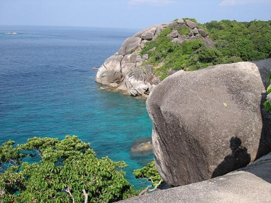 Iles similan en Thalande, similan islands - Phuket