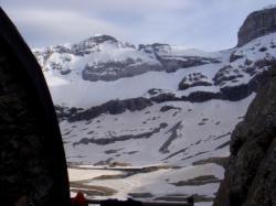 A côté du refuge de Tuquerouye, vue sur le Mont Perdu