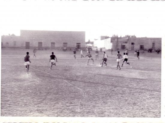 """""""El-gaâ"""" notre historique terrain de foot"""