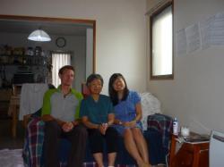 Avec Sumiko et Chie - Kobe