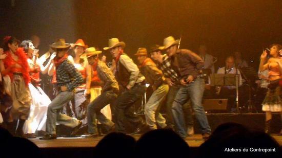 Les cow-boys dansent sur Preacher
