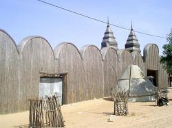 La mosquée en paille