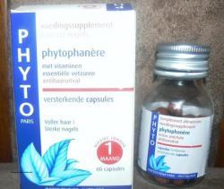 Compléments alimentaires phytophanère