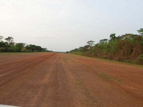 On the runway at Djoum (2007?)